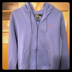Polo Ralph Lauren Men's Zip-up Hoodie, size L.